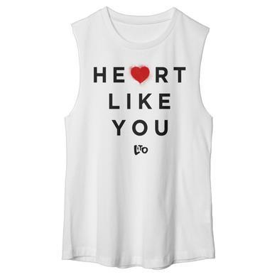 Love & The Outcome White Heart Like You Tank
