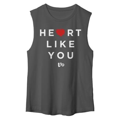 Love & The Outcome Gray Heart Like You Tank