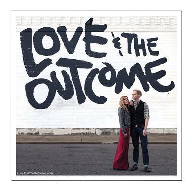 Love & the Outcome Square Print