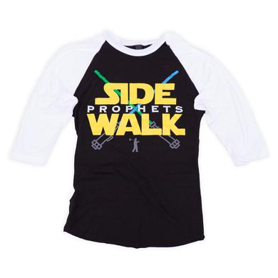 Sidewalk Prophets Crossed Lightsabers 3/4 Sleeve Tee