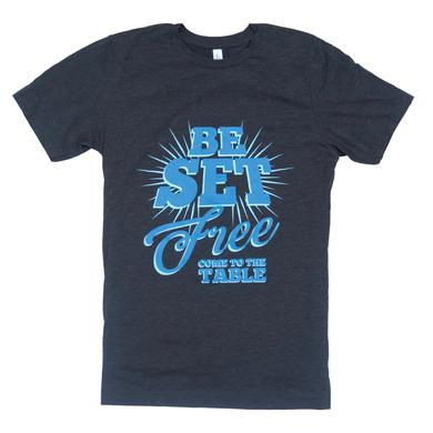 Sidewalk Prophets Be Set Free Heather Black Tee