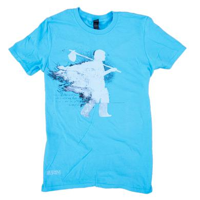 Sidewalk Prophets Sky Blue Walking Man Tee
