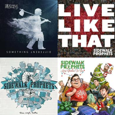 Sidewalk Prophets Autographed CD Bundle