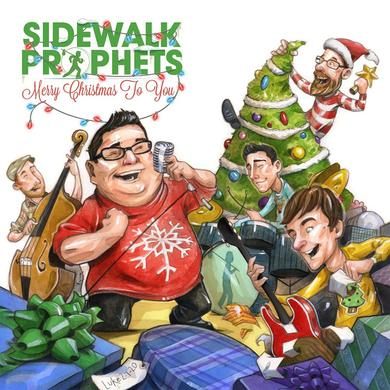 Sidewalk Prophets MERRY CHRISTMAS TO YOU CD (autographed)