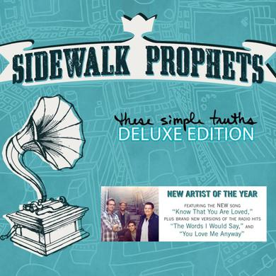 Sidewalk Prophets THESE SIMPLE TRUTHS: DELUXE EDITION CD