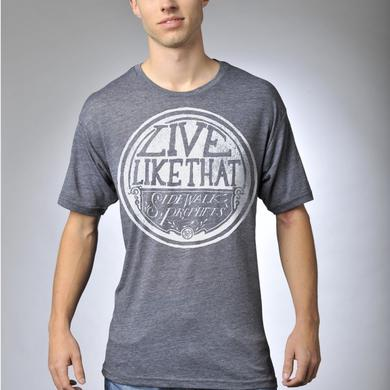 "Sidewalk Prophets ""LIVE LIKE THAT"" VINTAGE LOGO T-SHIRT"