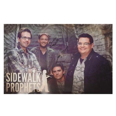 Sidewalk Prophets Autographed - Stairwell Photo