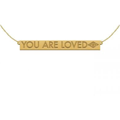 Stars Go Dim You Are Loved Necklace