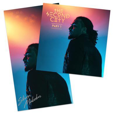 Steven Malcolm Second City Digital EP + Signed Poster