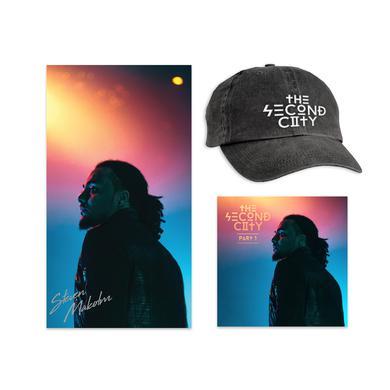 Steven Malcolm Second City Digital EP + Signed Poster + Dad Hat