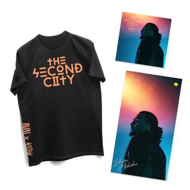 Steven Malcolm Second City Digital EP + Signed Poster + Tee