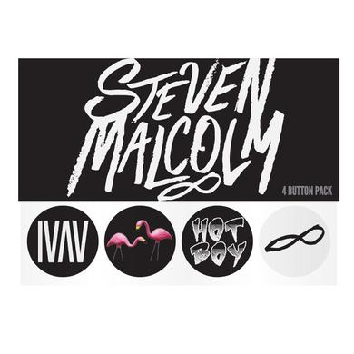 Steven Malcolm Button Pack