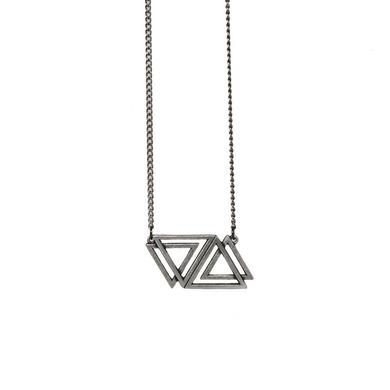 VERIDIA Triangle Logo Necklace