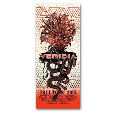 Autographed Veridia Tour Poster