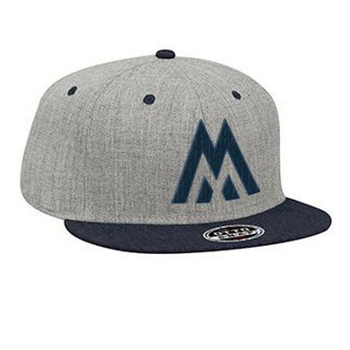We Are Messengers Grey Snapback Hat