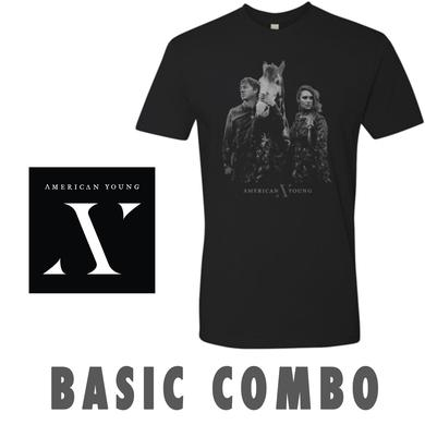 American Young Autographed CD and Face T-Shirt Combo Pre-Order