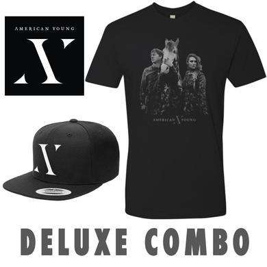 American Young Autographed CD, Hat & Face T-Shirt Combo Pre-Order