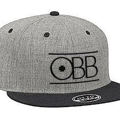 OBB Band Black & Grey Logo Snapback
