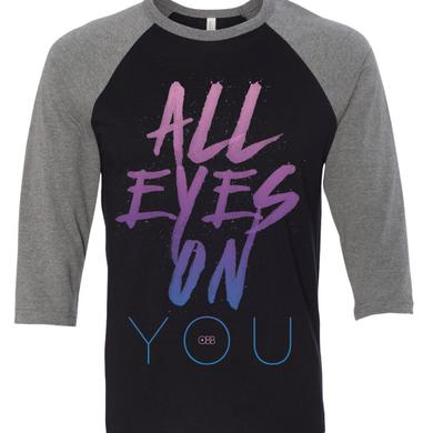 OBB Band All Eyes on You Baseball Tee