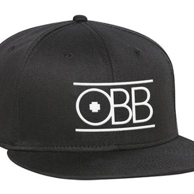 OBB Band Black & White Logo Snapback