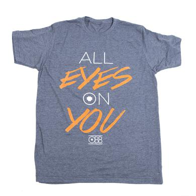OBB Band Eyes On You Heather Grey Tee