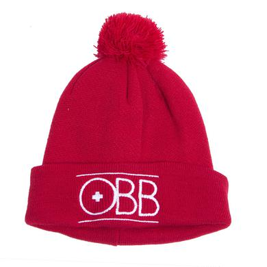 OBB Band Red Beanie