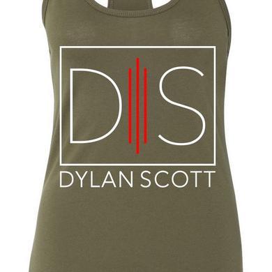 Dylan Scott Ladies' Green Logo Tank