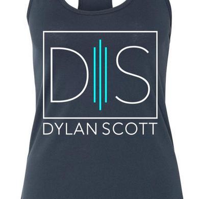 Dylan Scott Ladies' Blue Logo Tank
