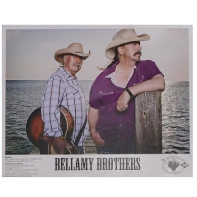 Bellamy Brothers Bellamy Brother Color 8x10 Photo