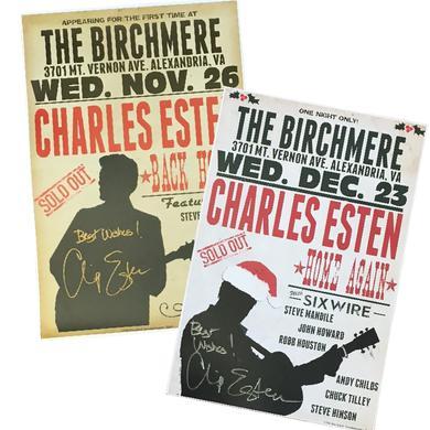 Charles Esten AUTOGRAPHED Poster Set