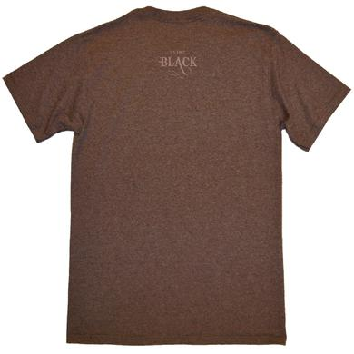 Clint Black Heather Dark Chocolate Tee- Nothing's News