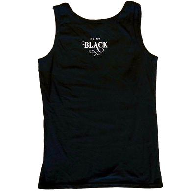 Clint Black Ladies Black Nothing's News Tank Top