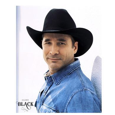 Clint Black 8x10- Denim Shirt