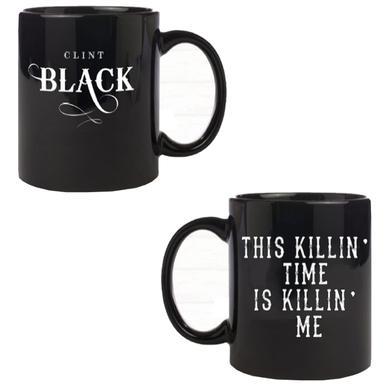 Clint Black Black Coffee Mug