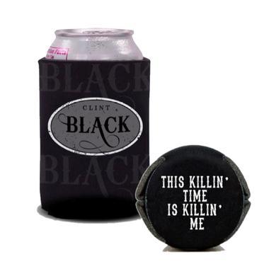 Clint Black Black Killin' Time Koozie
