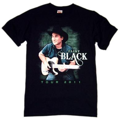Clint Black 2011 Black Photo Tee