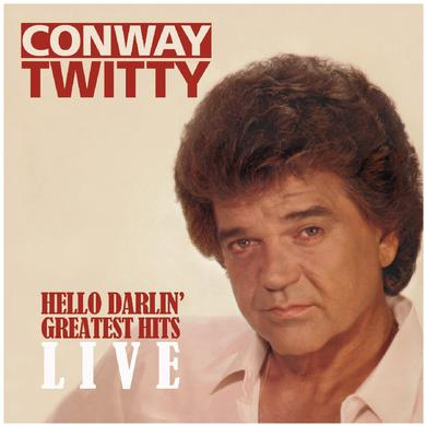 Conway Twitty CD- Hello Darlin' Greatest Hits LIVE