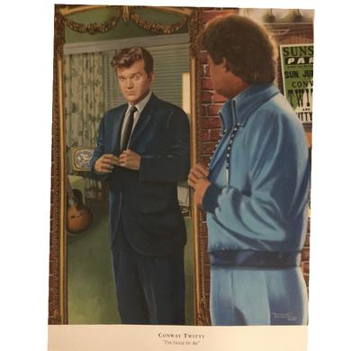 Conway Twitty 20x24 Print- The Image of Me