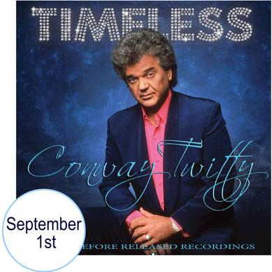 Conway Twitty PRESALE CD- Timeless