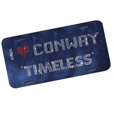 Conway Twitty Timeless License Plate