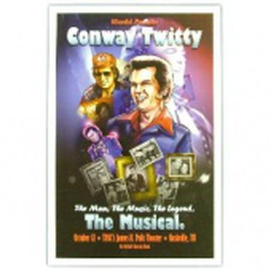 Conway Twitty Multi Photo Hatch Poster