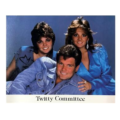 Conway Twitty Twitty Committee 8x10