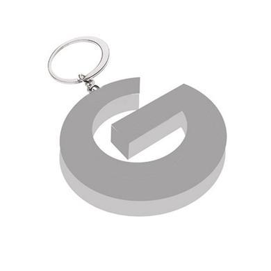 George Michael G Logo Metal Keyring