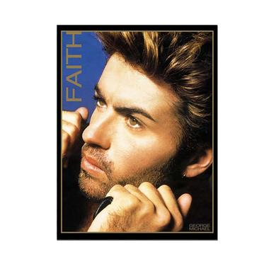 George Michael Faith Lithographic Print - Limited Collector's Edition 1/500