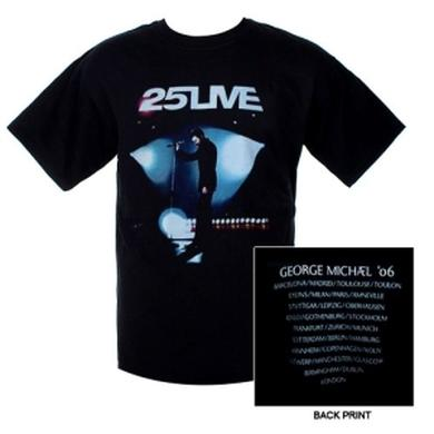 George Michael 25Live European Tour Stage Tee
