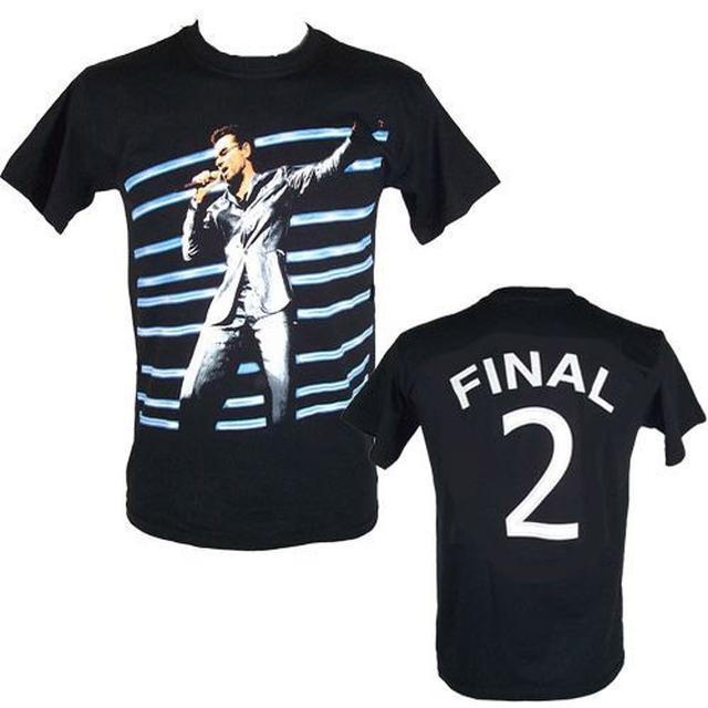 "George Michael GM Earls Court ""Final 2"" Event  Black T-shirt"
