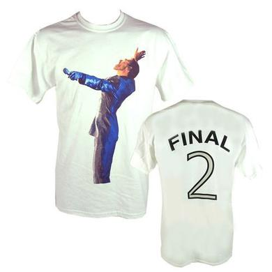"George Michael GM Earls Court ""Final 2"" Event White T-shirt"