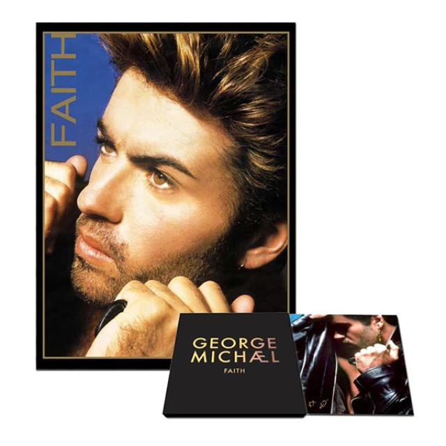 George Michael Faith Special Edition Album & Lithograph Bundle