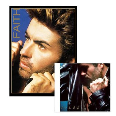 George Michael Faith Album & Lithograph Bundle