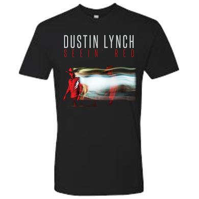 Dustin Lynch Seein' Red Black Tee
